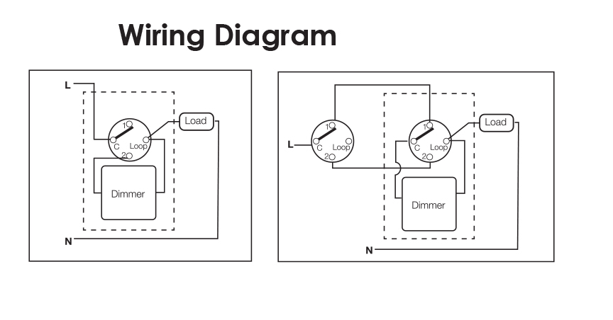 Wiring Diagram Dimmer