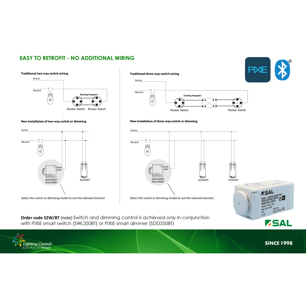 PIXIE MULTI-WAY SWITCH - SAL